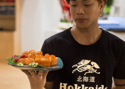 hokkaido ristorante giapponese cameriere