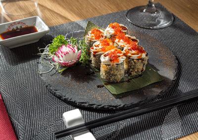 hokkaido ristorante giapponese hosomaki fritto salmone cotto phildelpia tobiko (1)