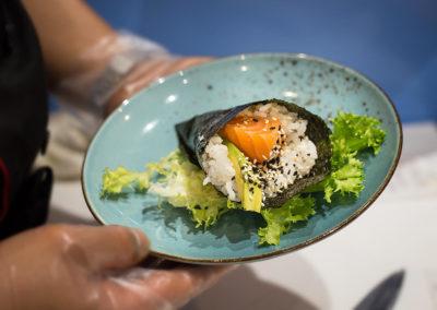 hokkaido ristorante giapponese temaki salmone avocado